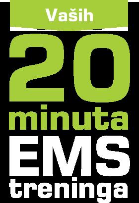 Vaših 20 minuta treninga
